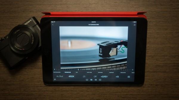 Adobe выпустила фоторедактор Lightroom для iPad