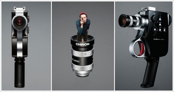 Chinon Bellami HD1 – цифровая видеокамера в ретро-стиле