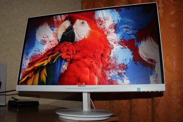 Монитор Philips 274E5QHAW — хорошая картинка, большой экран, встроенный звук и ничего лишнего