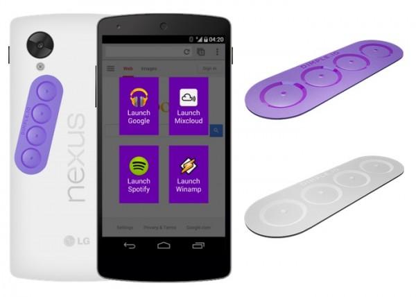 Dimple — дополнительные кнопки для устройств с NFC
