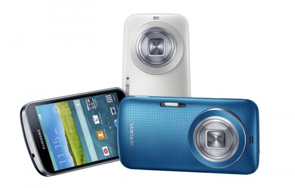 Samsung представила новую камеру-смартфон K Zoom