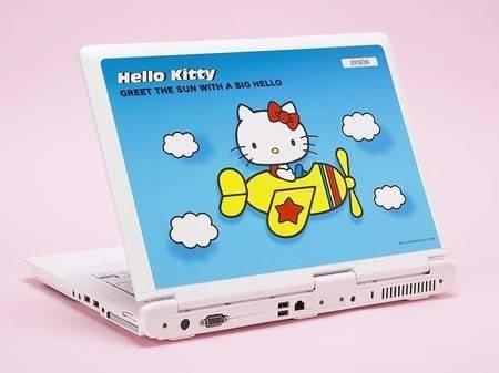Epson Endeavor NJ2100 – ноутбук для любителей кошечек