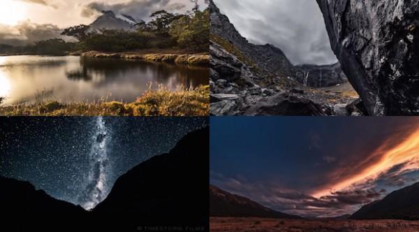 Захватывающая замедленная съемка новозеландских красот в формате 4K