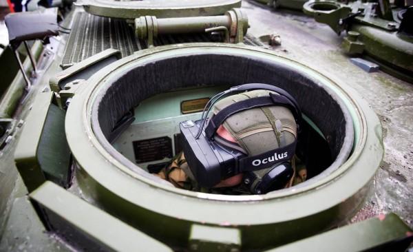 Норвежская армия использует Oculus Rift для управления танками