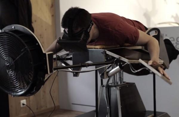 Машина виртуальной реальности Birdly – для тех, кто хочет летать, как птица