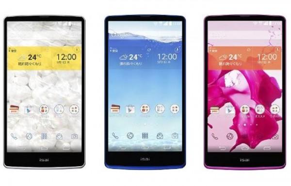 Isai – новый смартфон от LG с QHD-дисплеем