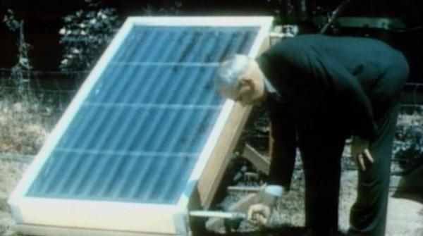 Ретро-видео ретро-изобретения: холодильник на энергии солнца 1937 года