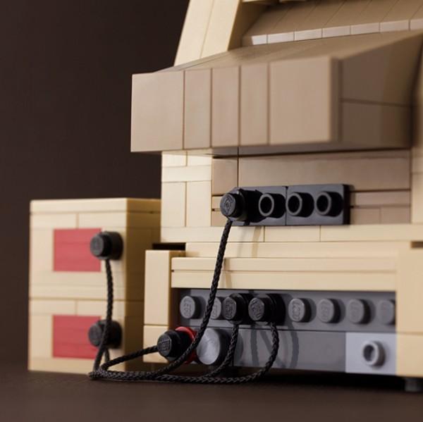 Apple II из кирпичиков Лего