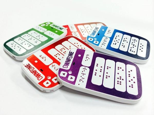 Англичане выпустили телефон для слабовидящих с «заказными кнопками»