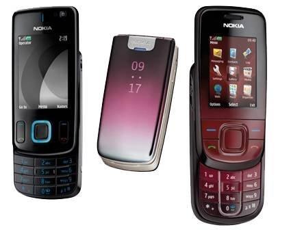 6600 Fold, 6600 Slide, 3600 Slide – три новых телефона среднего класса от Nokia