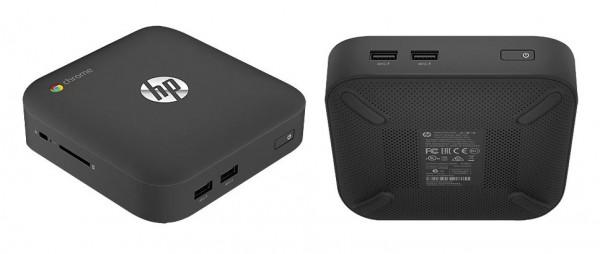 В Сети появились спецификации портативного десктопа HP Chromebox