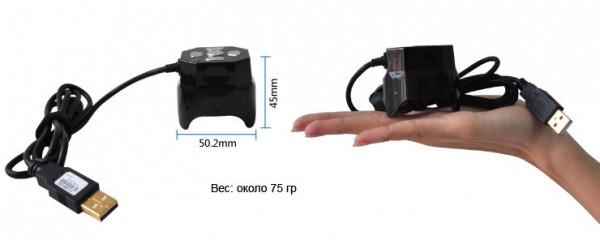 Удобный цифровой микроскоп DigiMicro Mini
