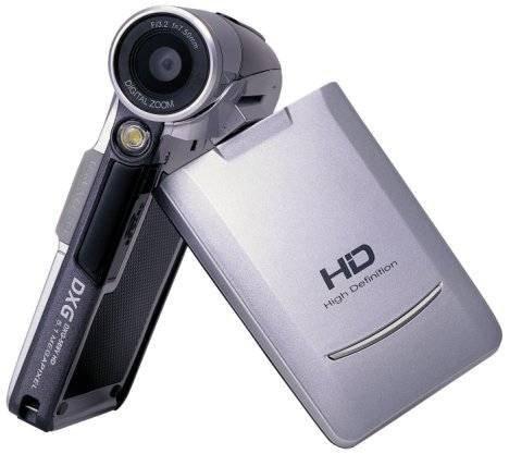 DXG-569V – недорогая HD-видеокамера