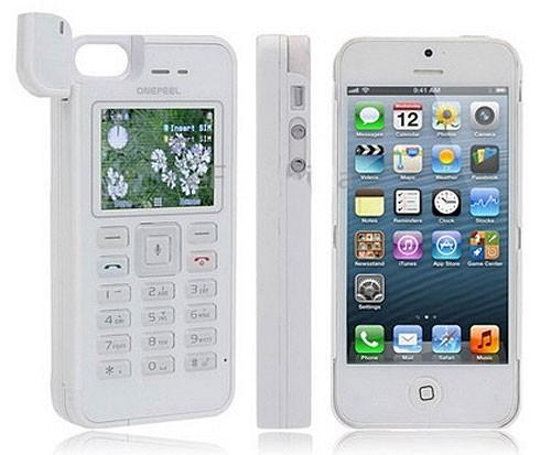 OnePeel — корпус для iPhone с поддержкой двух SIM-карт