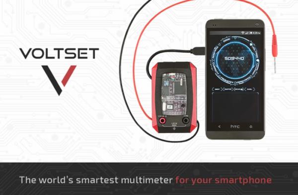 Voltset — «самый умный» мультиметр для смартфонов