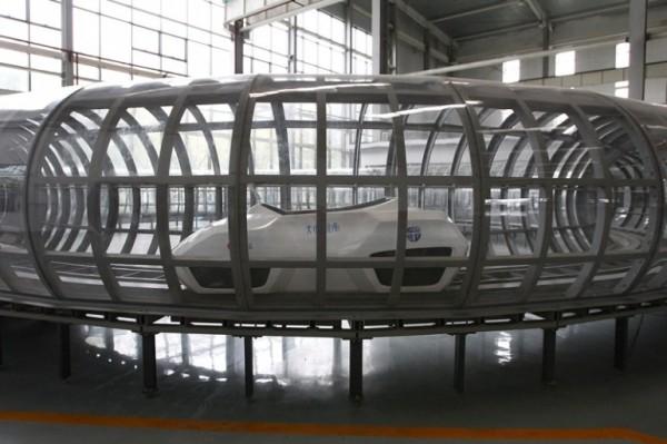 Китайские ученые работают над супер-поездом, достигающим скоростей порядка 2900 км/ч