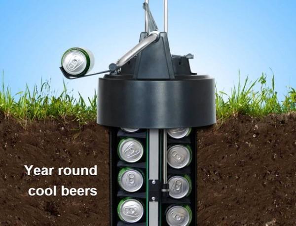 Подземный кулер eCool Beer – холодное пиво круглый год