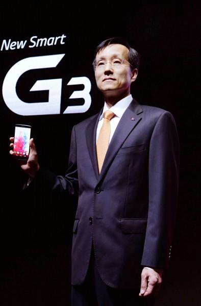 LG G3 — телефон с лазерным прицелом