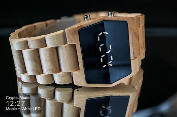Новые часы от Tokyoflash: деревянные Kisai Xtal