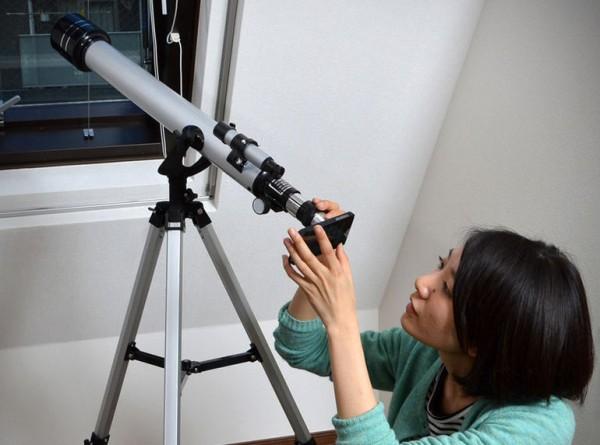 Очередной безумный аксессуар для iPhone – телескоп за 382 $