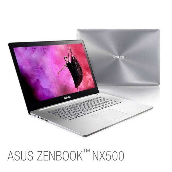 ASUS представила ультрабук Zenbook NX500 с 4K-дисплеем