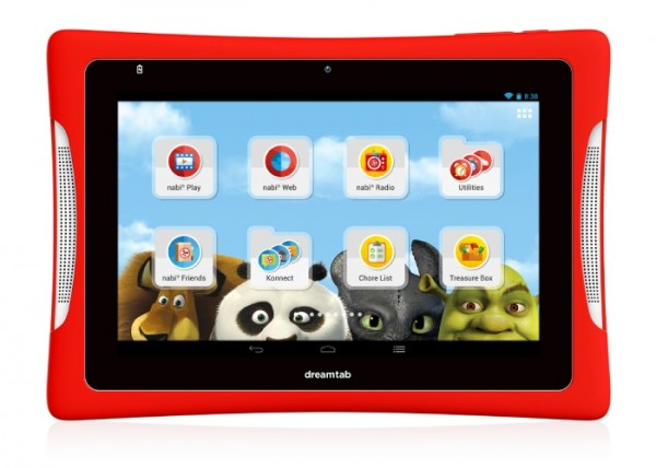 DreamTab 8 — Android-планшет для детей