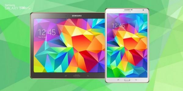 Galaxy Tab S: новая серия планшетов Samsung