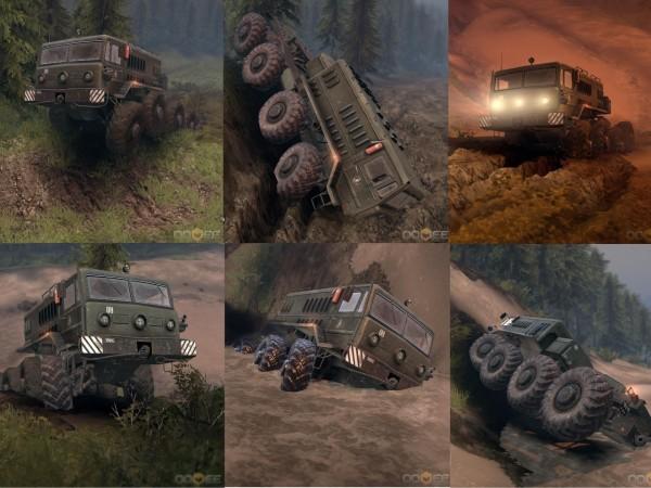 Советские железные титаны, рев мощи и мегатонны грязи: обзор игры Spintires