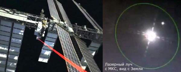 МКС готовят к «апгрейду» заменой радиомодема лазерным передатчиком