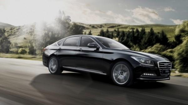 Умный автомобиль Hyundai Genesis не боится камер