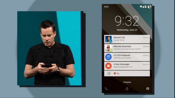 Google представила новую операционную систему Android L