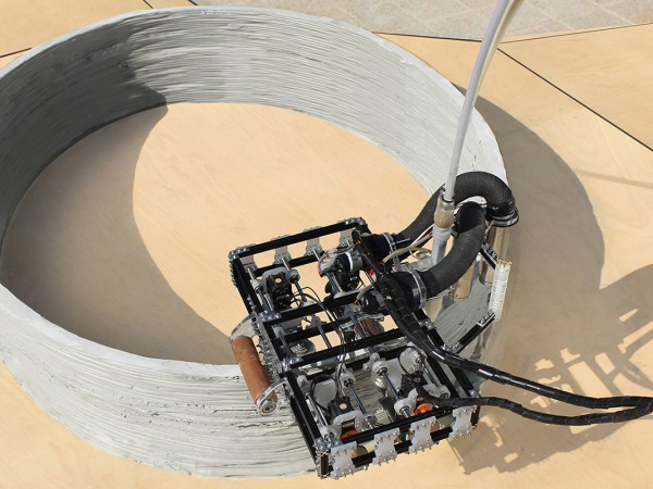 Небольшие роботы-строители смогут распечатать дом