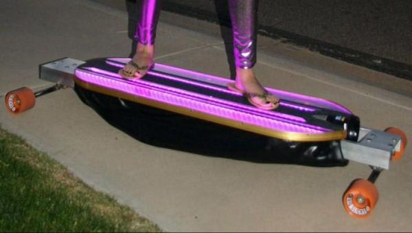 HoverScater – скейтборд на воздушной подушке