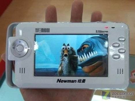 Newman M8000 – плеер с гигантским объемом памяти