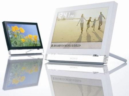 Цифровая фоторамка Sony VGF-CP1 с Wi-Fi и RSS