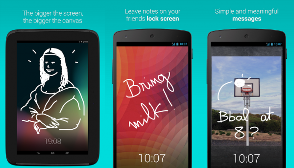 На экране блокировки Android теперь можно обмениваться сообщениями