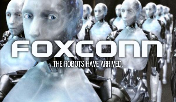 Foxconn «наняла» 10 000 роботов