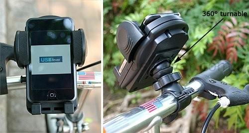 Вело-держатель для КПК или iPhone