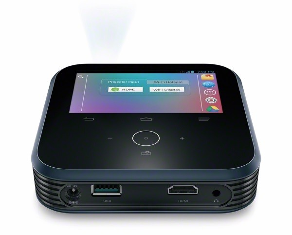 ZTE LivePro — мобильная точка доступа, проектор и аккумулятор