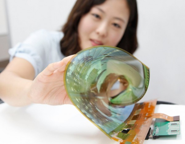 Гибкий 18-дюймовый дисплей от LG