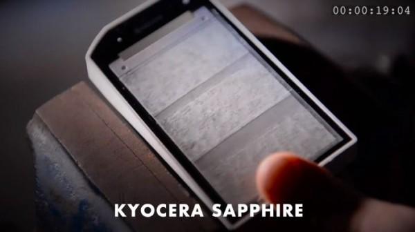 Kyocera работает над смартфоном с сапфировым стеклом