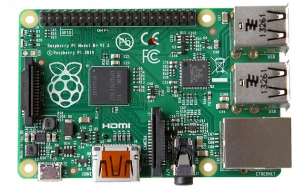 Проект Raspberry Pi представил Model B+