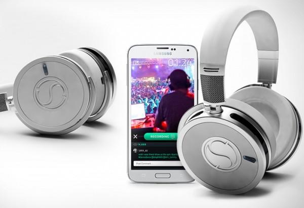 SoundSight Headphones — наушники с возможностью видеосъемки