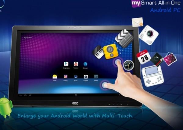 AOC MySmart — 24-дюймовый монитор-планшет