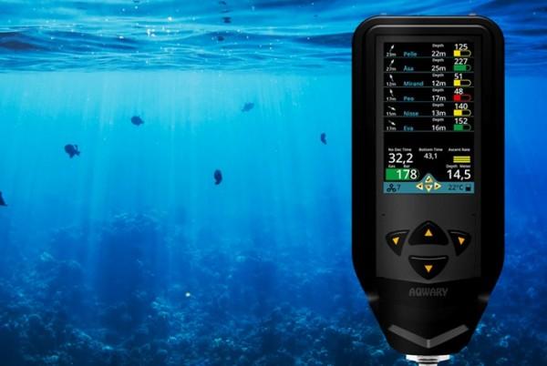 Aqwary Smart Console — коммуникатор для дайверов