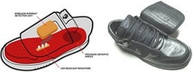 Wi-Fi кроссовки от Nike