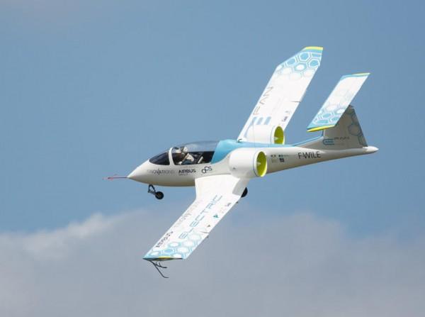 Компания Аэробус создала «электрический» самолет