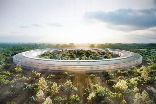 Строительство «космического» кампуса Apple началось