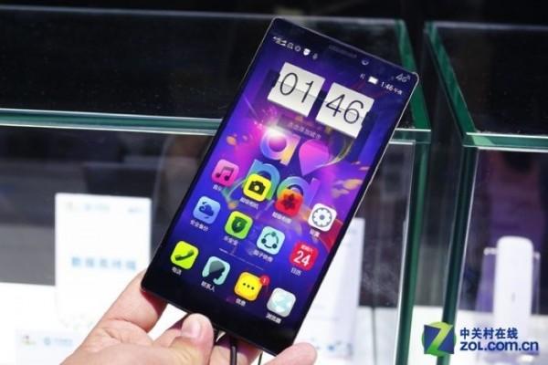 Смартфон Lenovo K920 с QHD-дисплеем скоро выйдет в продажу