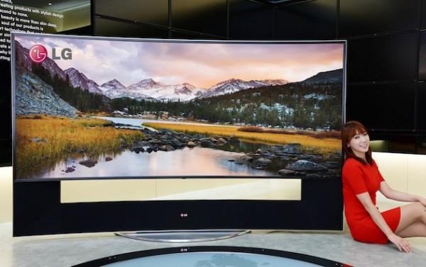 LG представила 105-дюймовый телевизор за 117 000 долларов